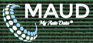 MAUD Logo Weiss